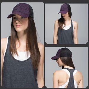 Lululemon What'SUP Hat~Star Crushed Black Cherry